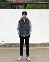 [Okun limited]패딩조끼